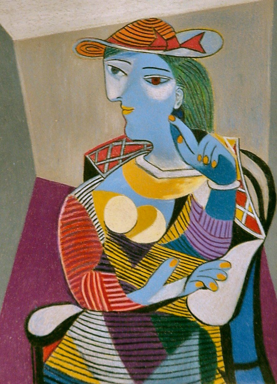 Happy Birthday Picasso Seated Woman 1937 By Pablo Born On 25 October