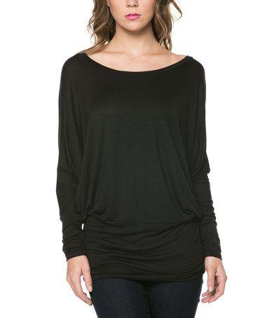 Love this Black Blouson Top on zulily! zulilyfinds