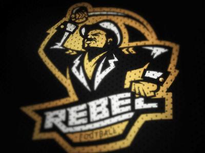 Rebels Football Concept Logo Concept Logo Design Concept