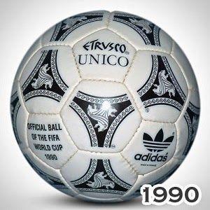 Italia 1990-Balón oficial  8c7302360f686