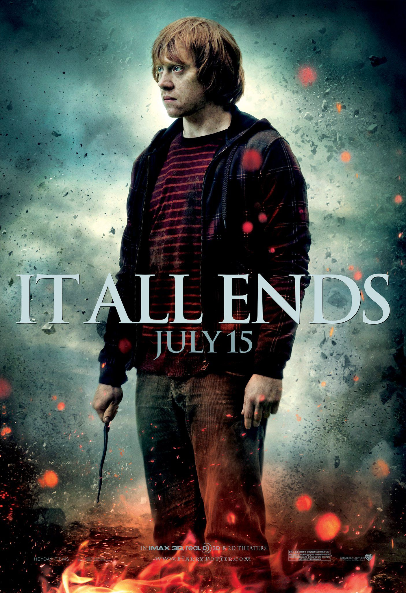Ron Weasley HarryPotter And The Deathly Hallows Part 2 It All Ends