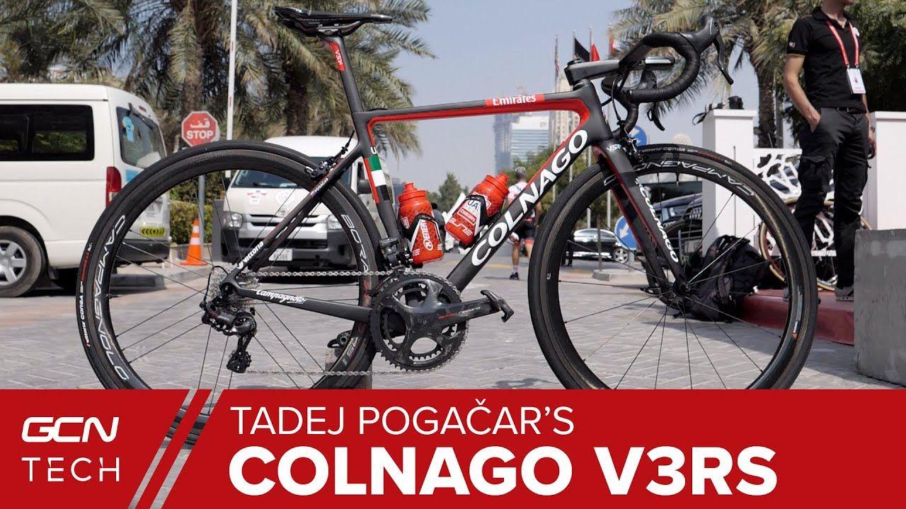 Tadej Pogacar S Colnago V3rs Pro Bike Slovenian Superstar S Italian St In 2020 Colnago Pro Bike Slovenian