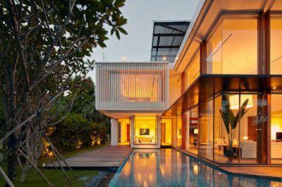 Casas Minimalistas y Modernas: Minimalismo en Singapur