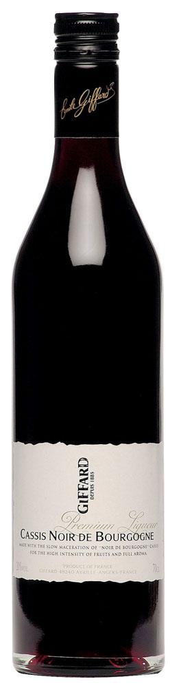 GIFFARD Premium Liqueur - Cassis Noir de Bourgogne      70 cl - 20%