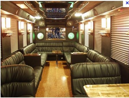Party Bus For The Wedding Party Desain Desain Rumah Rumah