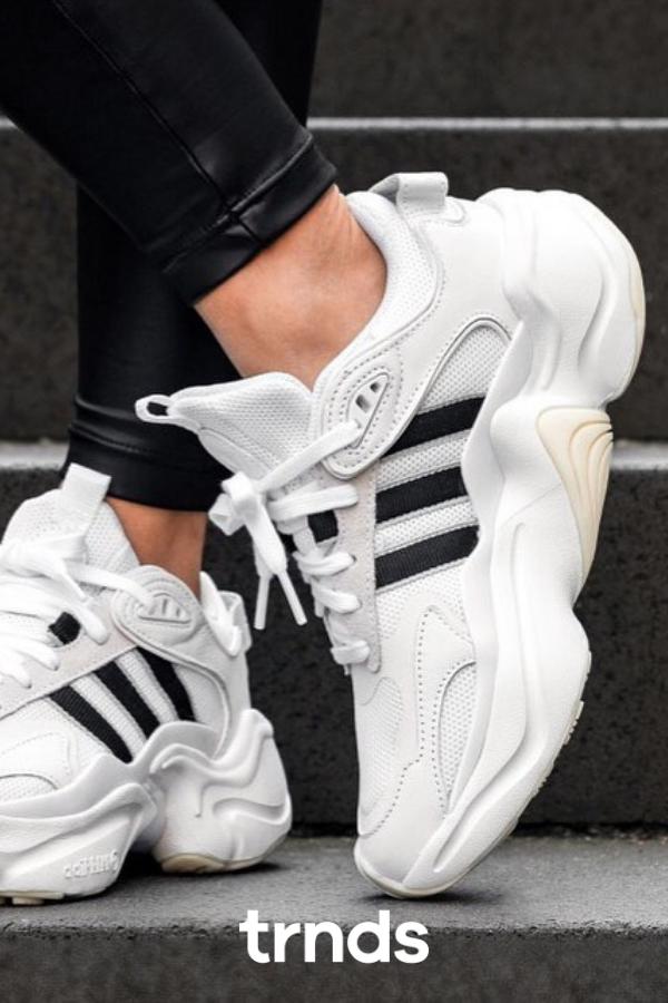 Adidas Magmur White runner shoes for