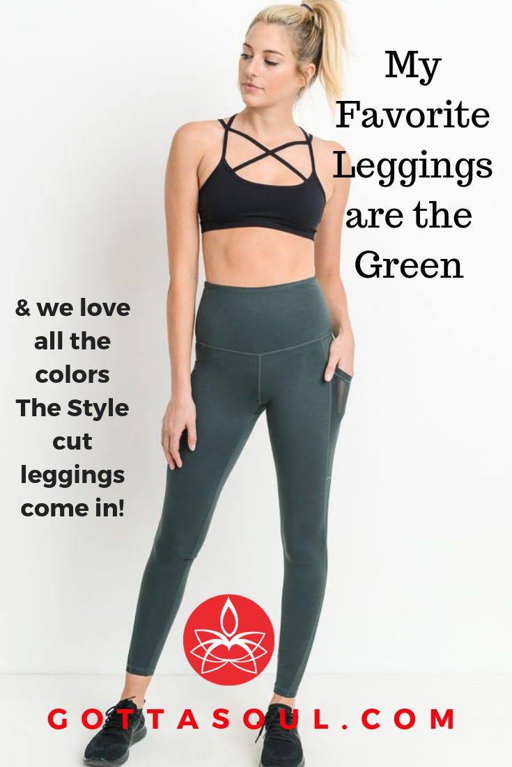 5098b7a38ca4d5 The style cut leggings come in a Rainbow of colors. Check the new cut and