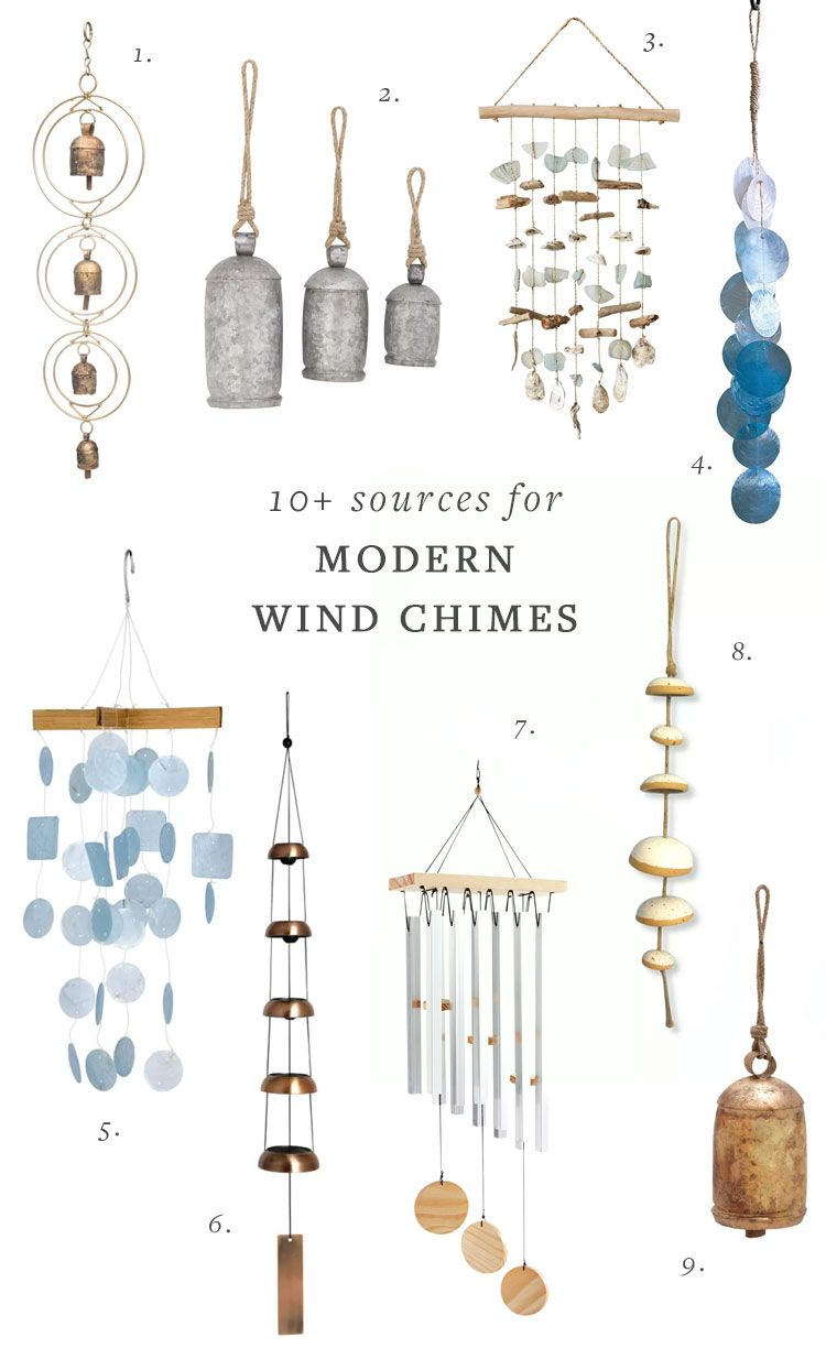 10 Sources For Modern Wind Chimes Modern Wind Chimes Wind Chimes Chimes