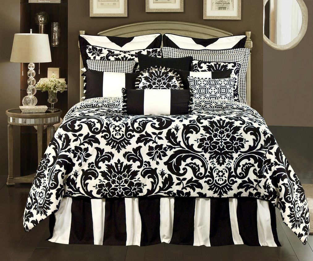 Love This Damask Bedding Going With Damask Stripes