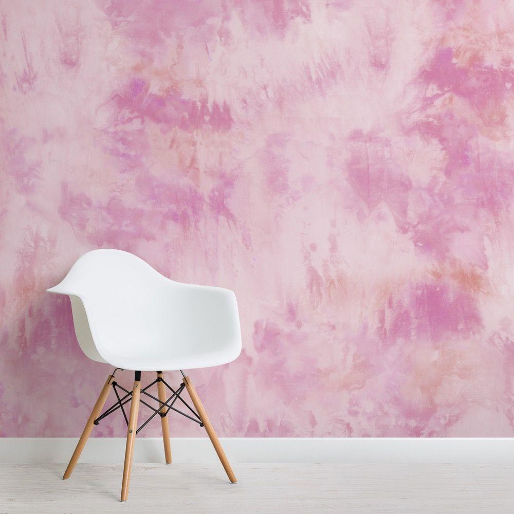 Pink Tie Dye Wallpaper Mural Murals Wallpaper Tie Dye Wallpaper Watercolor Wallpaper Mural Wallpaper