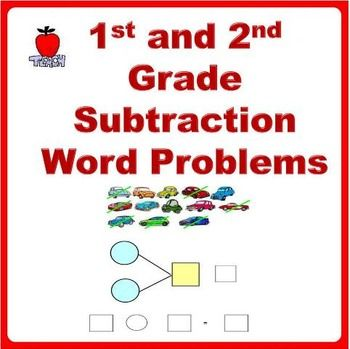 Subtraction Story Word Problems Bar Models  St Grade Nd
