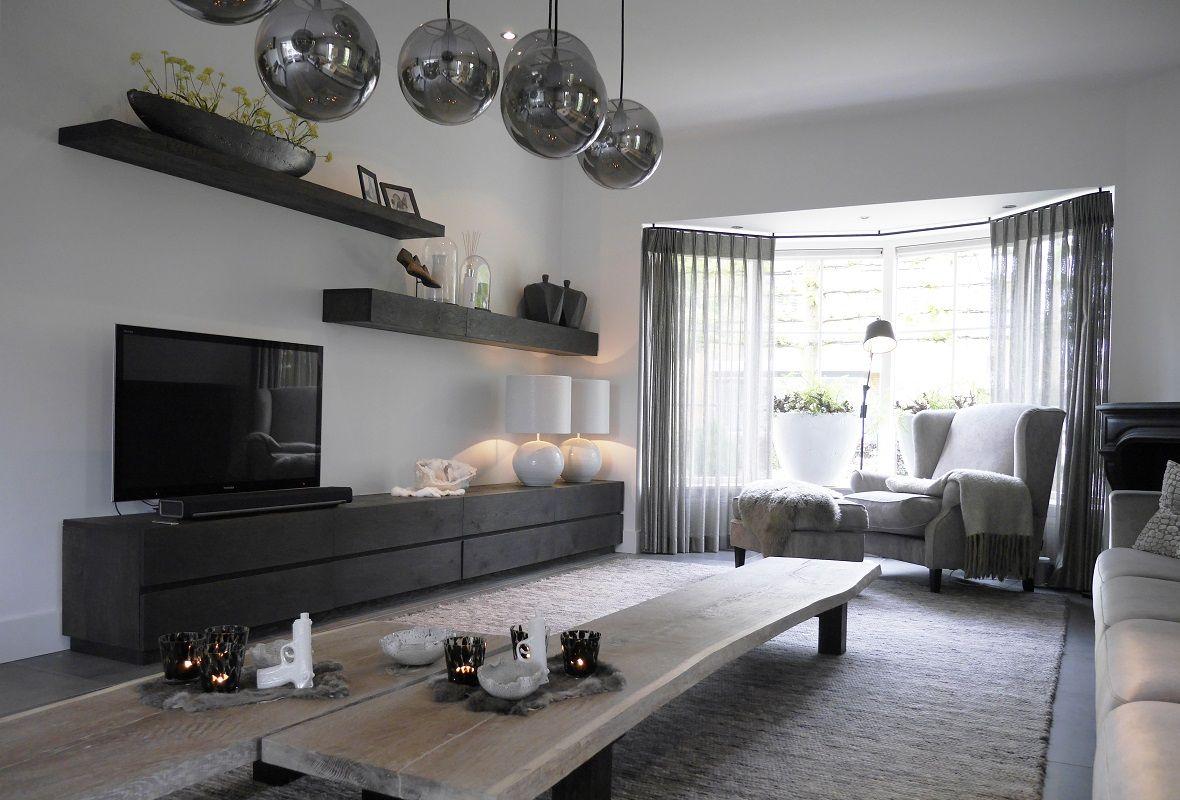 Leuke Accessoires Woonkamer : Sfeervol ingerichte woonkamer met veel aandacht voor details en