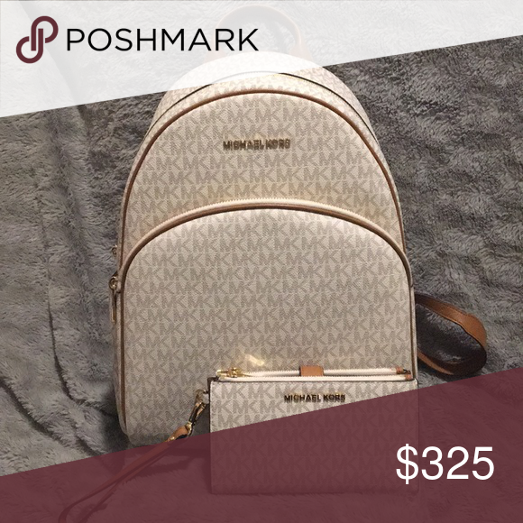 4a8e215a5efd Michael Kors Abbey backpack with double zip wallet 🍀Open to offers 💜Great  condition 10/10 BRAND NEW with tags 🚫No Trades ✈️NEXT DAY SHIPPING Michael  ...