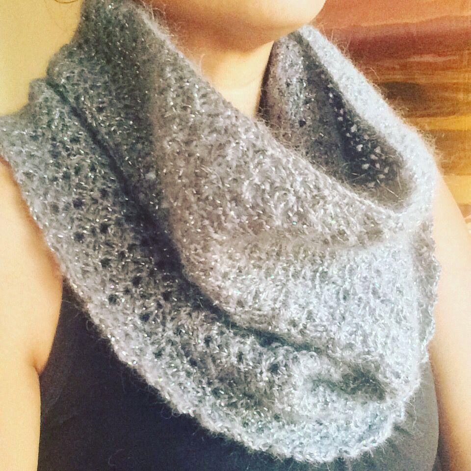 Glitzy mohair Cowlette   Crochet   Pinterest