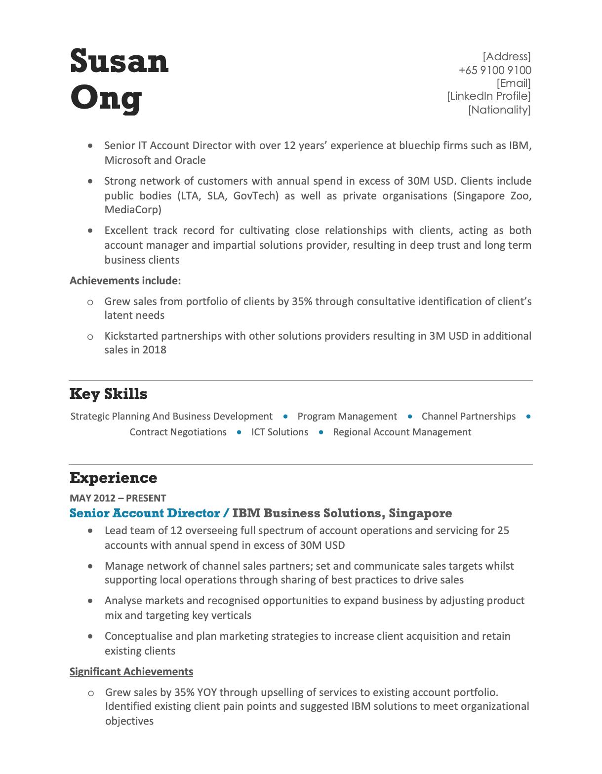 Modern Blue Resume Template CV Template in 2020 Cv