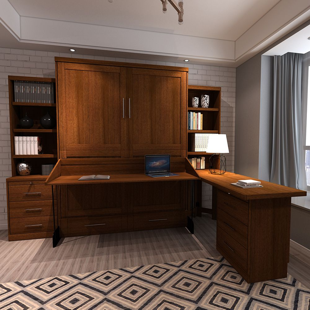 The Desk Murphy Bed, A Favorite Wallbed For Home Offices