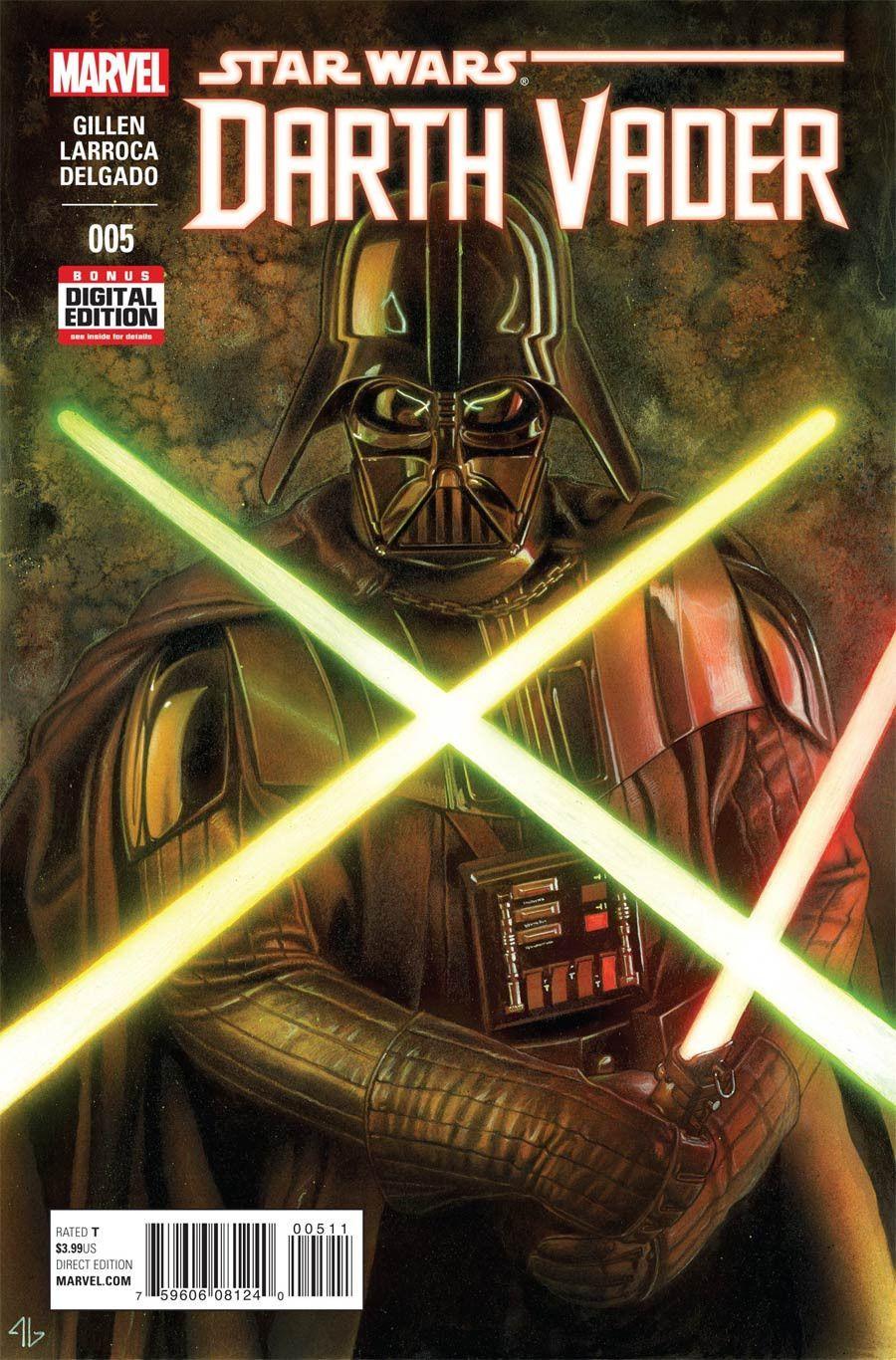 DARTH VADER #5 MAY 2015 MARVEL COMIC BOOK NEW RIVALS STAR WARS EMPERIOR SECRETS
