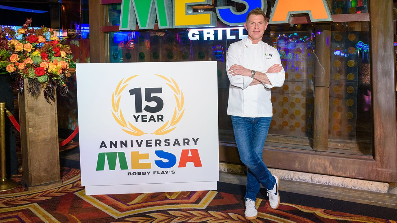 Bobby Flay on plantbased meat, his Las Vegas restaurant