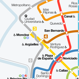 Madridxpress: Plano esquemático de Metro y Cercanías de Madrid