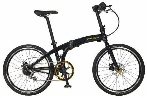 Dahon Ios S9 Black Gold Folding Bike Http Www Amazon Com Dp