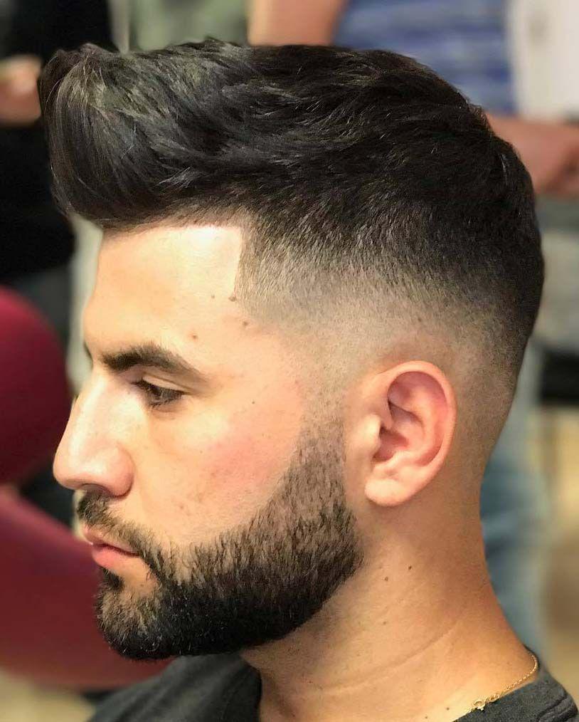 Fade Frisuren mit Bart 2018   Coole männer frisuren, Coole ...