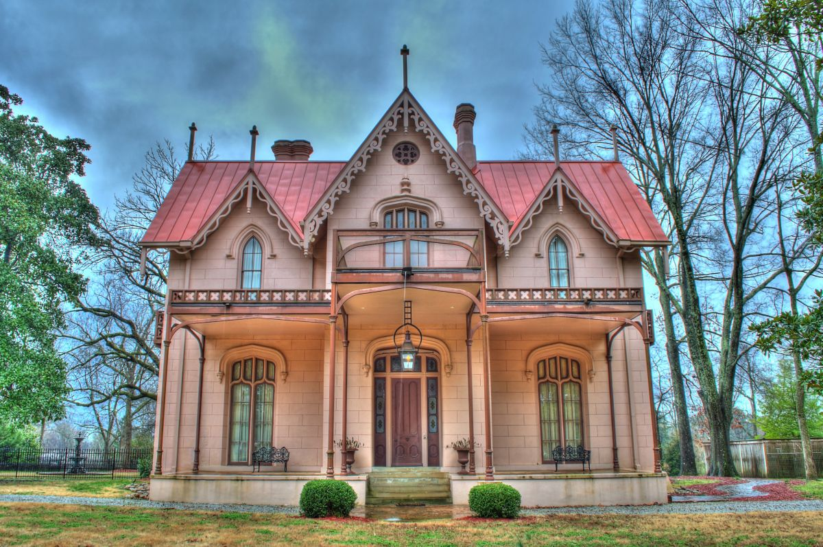 Airliewood 1858 holly springs antebellum homes