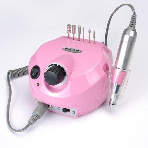 Professional Electric Acrylic Nail Drill File Buffer Bits Manicure Pedicure Kit Acrylic Nail Drill Nail Drill Acrylic Nail Kit