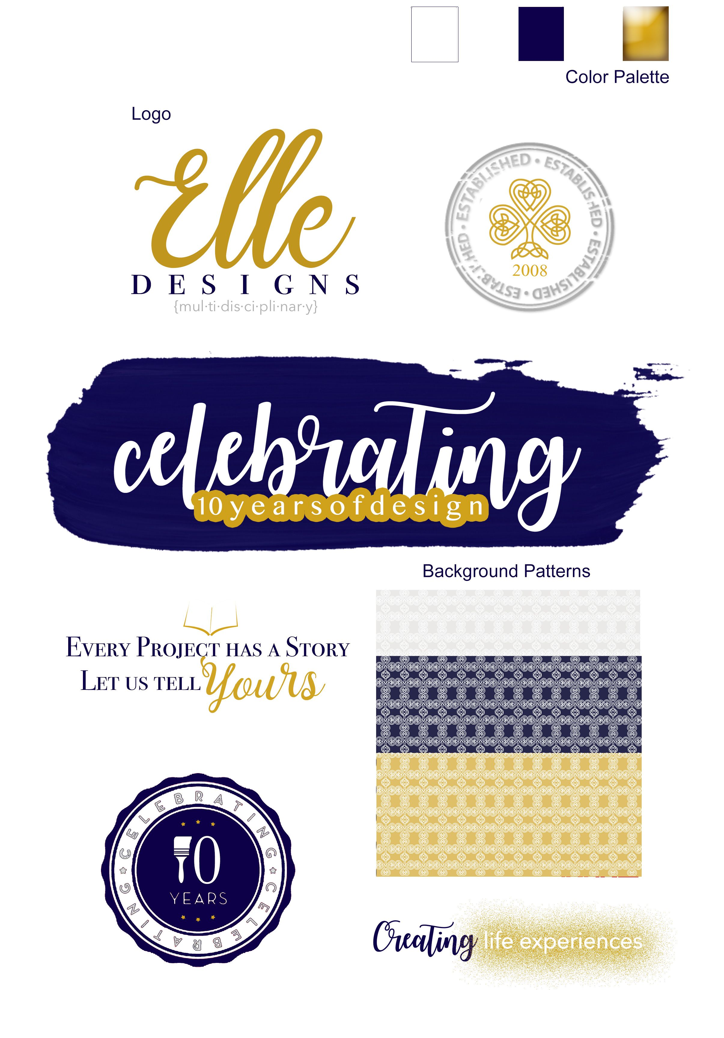 Pin by Danielle Myers on Elle Designs Logo color, Design