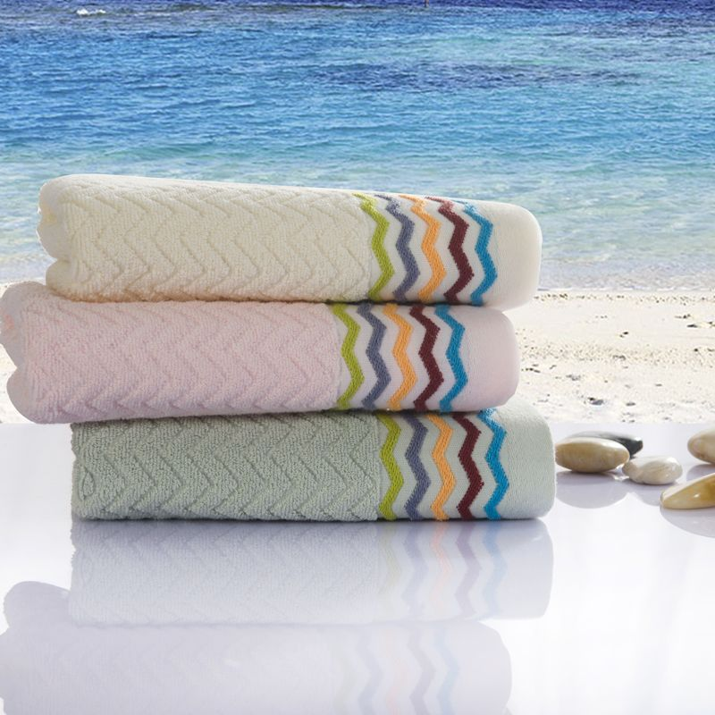 Luxury Personalized Multi Color bamboo cotton Towel On Sale Cheap ...