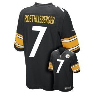 a69fbdd8a12 Nike NFL Pittsburgh Steelers Ben Roethlisberger Youth Replica Football  Jersey - Black-L - Official NFL T-Shirts and Hoodies at 5Star-Sports.net