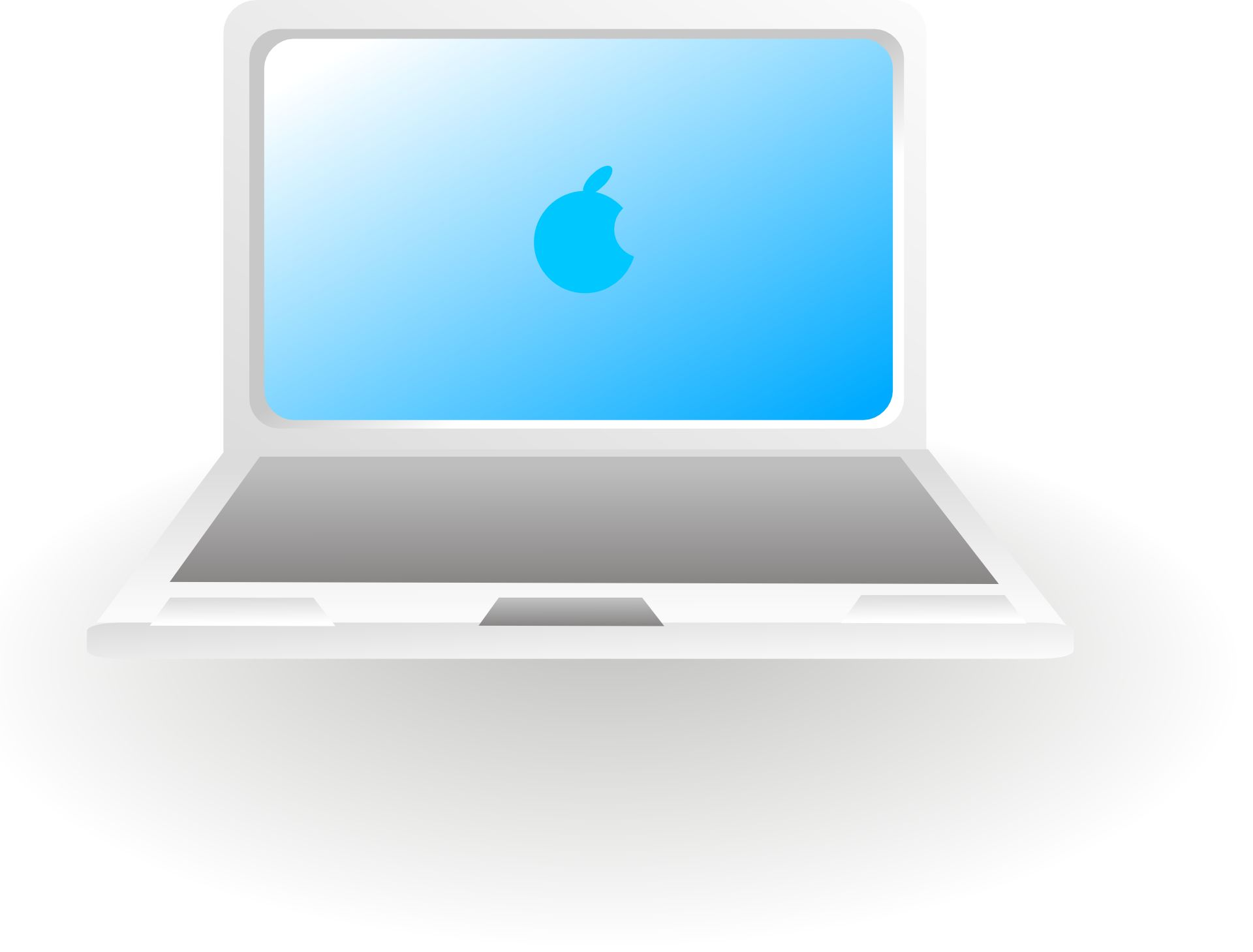 Apple Laptop Computer Clip Art Apple Computer