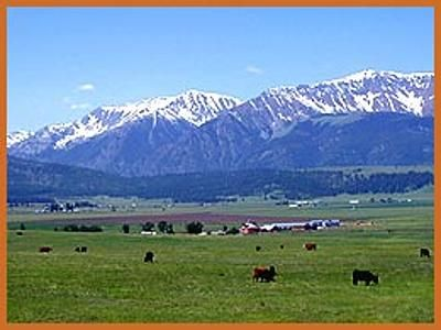 The Wallowa Mountains and Valley in Northeastern Oregon