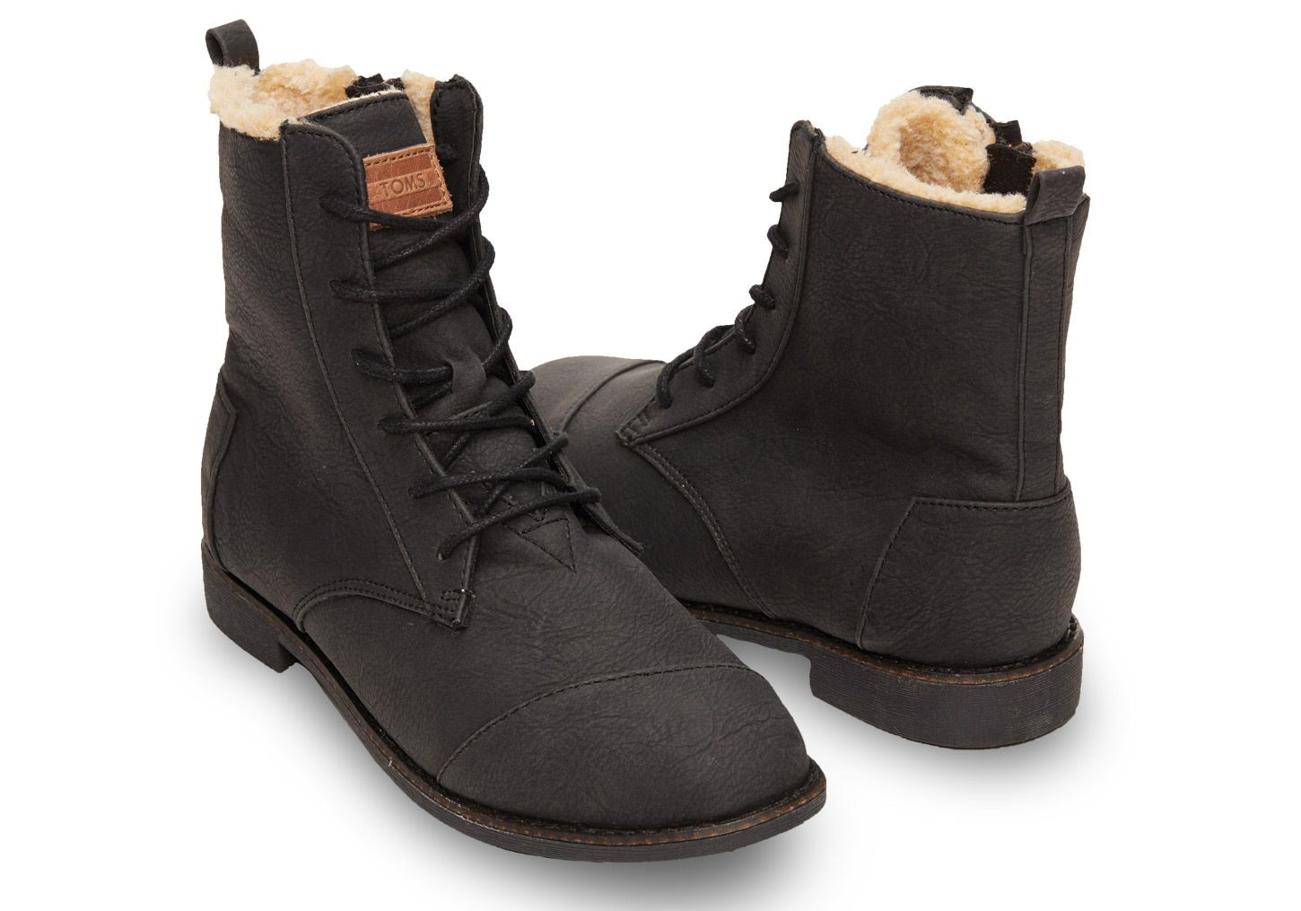 Partners in adventure. TOMS Alpa boots with warm, cozy lining ...