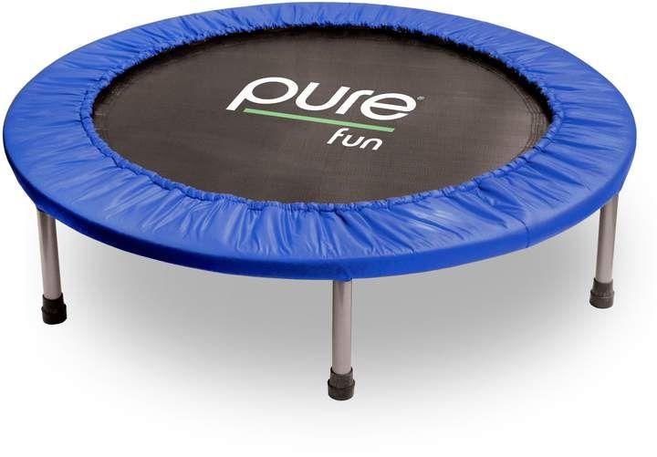 Pure Fun 40Inch Mini Trampoline in Blue