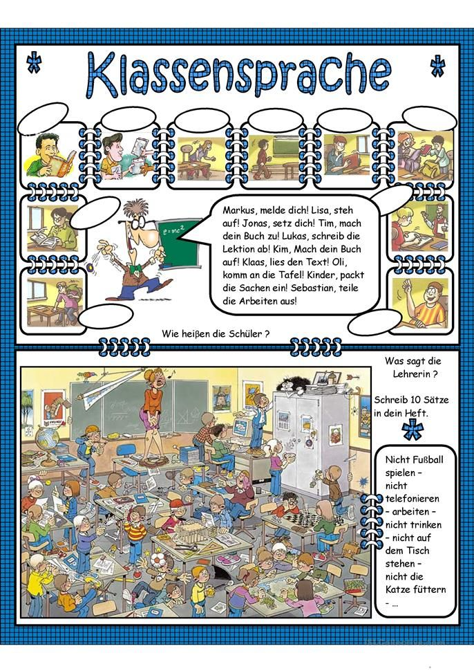 Klassensprache   Niemiecki   Pinterest   German and School