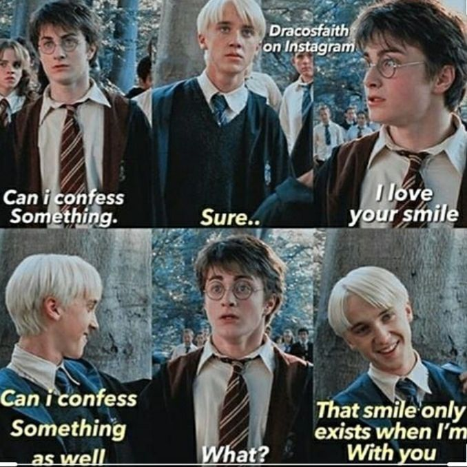 Drarry Memes Wattpad Harry Potter Feels Harry Potter Fanfiction Harry Potter Headcannons