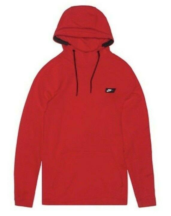 910f683cc8cb Nike Modern Pull Over Hoodie Mens University Red Sweatshirt 805128 657 3XL  XXXL  Nike