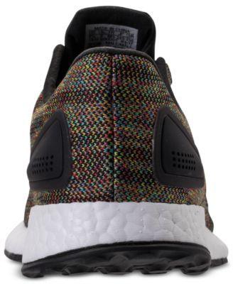65d18b2b6fd86 adidas Men s PureBOOST Dpr Ltd Running Sneakers from Finish Line - Black  10.5