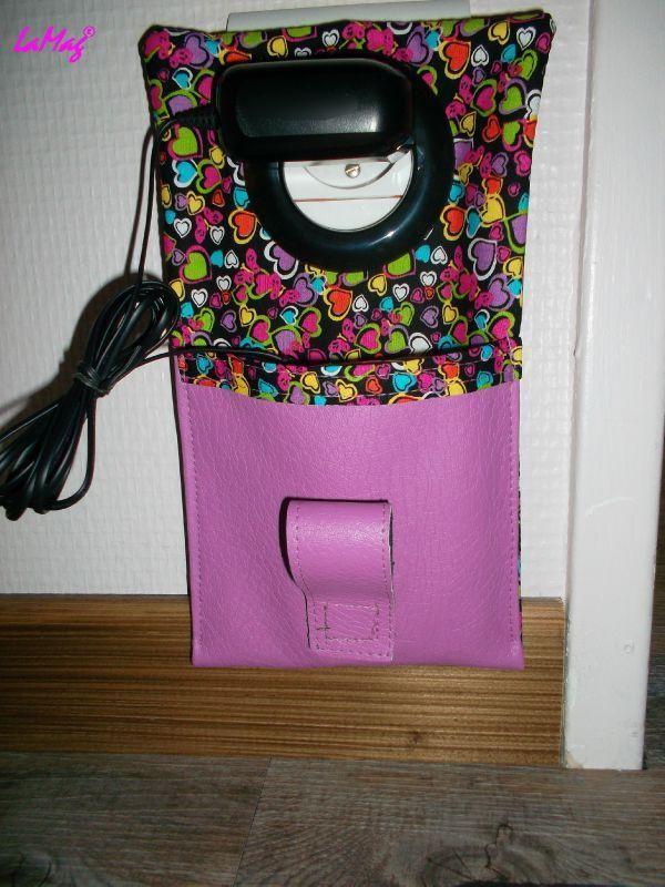 Tuto tui de chargeur de portable id es pour la maison patron couture portable charger - Couture pour la maison ...