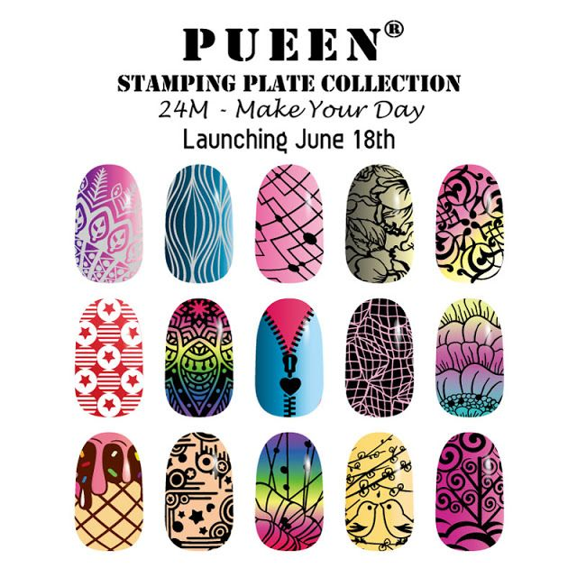 Hot Off The Stamping Press: Pueen Make Your Day Collection!