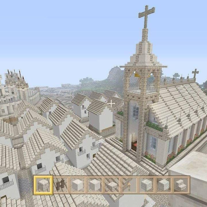 リコ インスタ映えしません On Instagram Minecraft Minecraftswitchedition マインクラフト マイクラ建築 Nintendoswitch Game 教会 Church Minecraft Projekte Minecraft Minecraft Haus