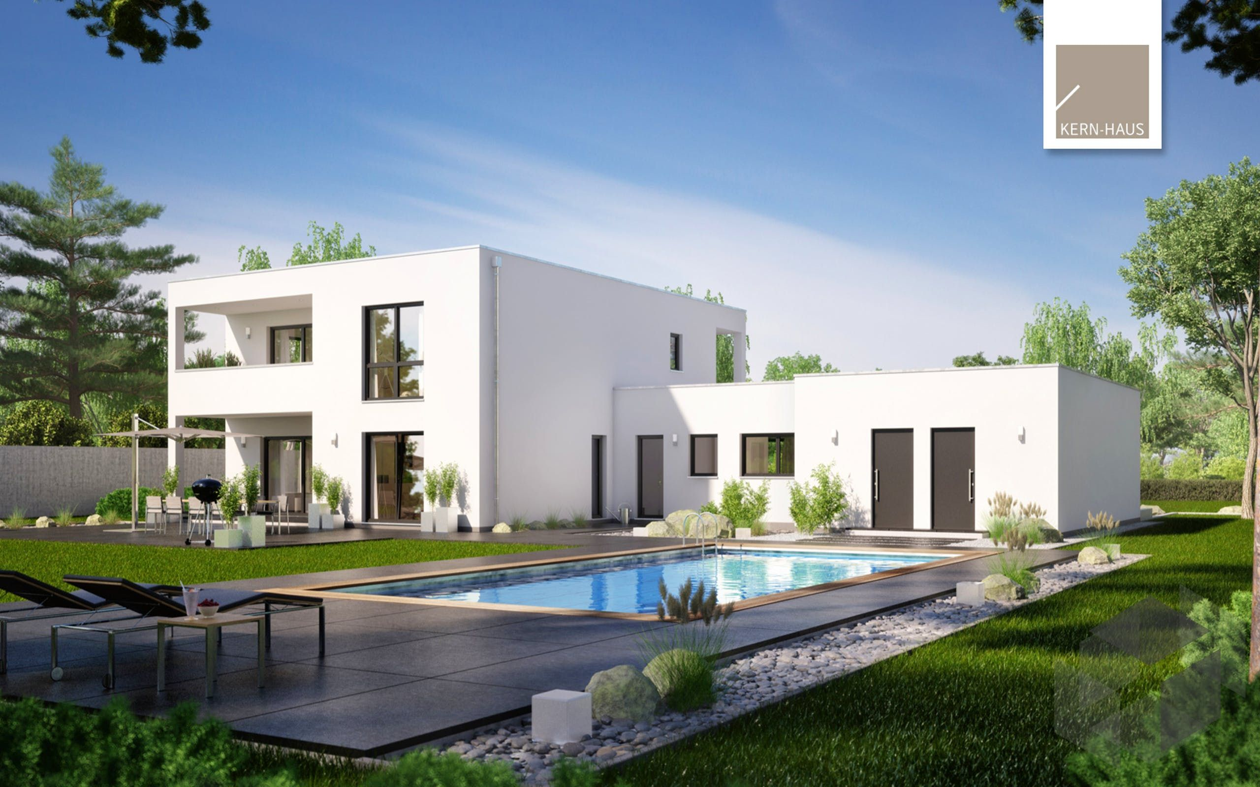 Exquisit Haus Bauhausstil Beste Wahl Ixeo Von Kern-   S Zum Mit