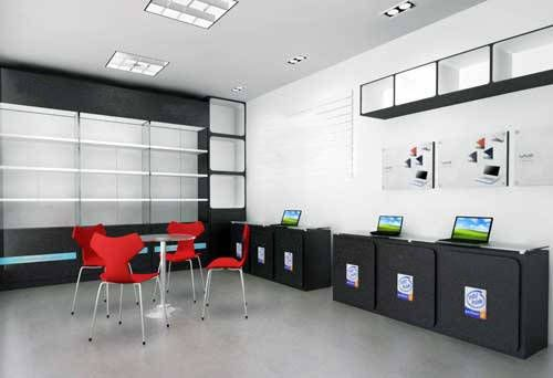Emejing Computer Shop Interior Design Ideas Images - Amazing ...