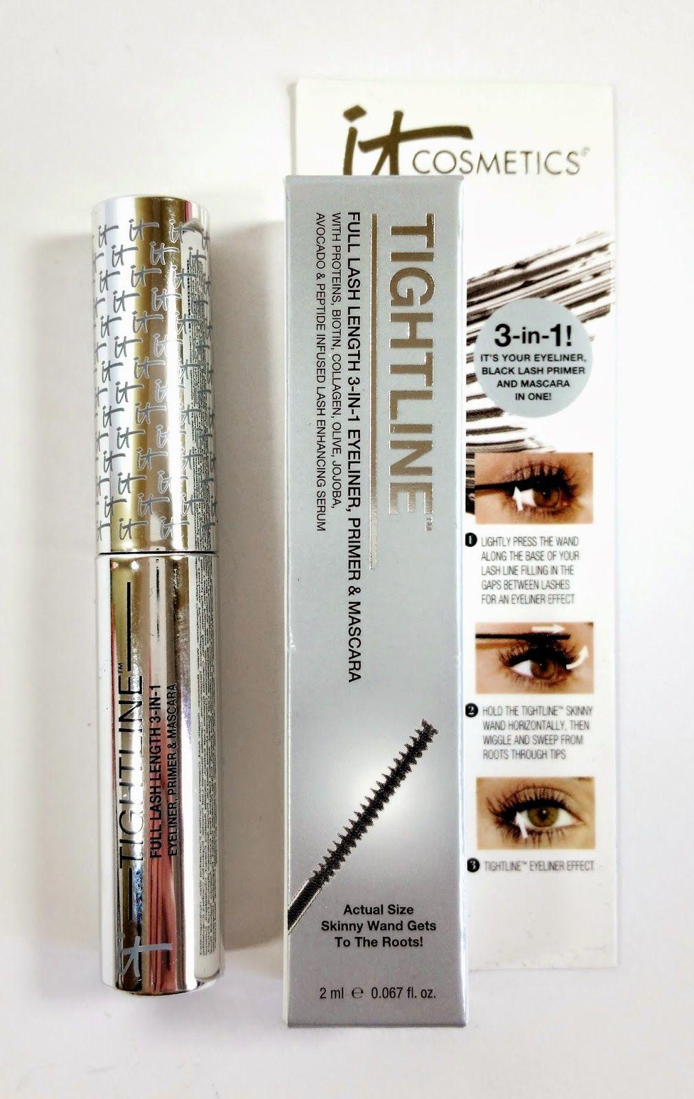 The Budget Beauty Blog: It Cosmetics Tightline Mascara Primer ...