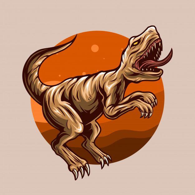Dangerous Dinosaur Illustration