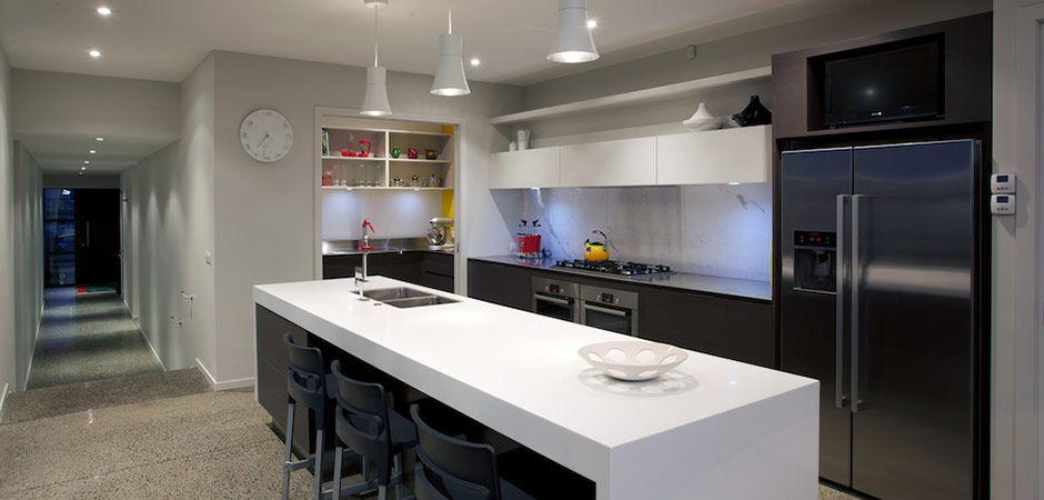 Pukenamurdtaupokitchen3 940×450  House  Pinterest Captivating Nz Kitchen Design Design Inspiration