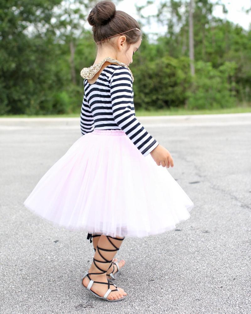 44f9b2ad Clarisa Kids Blush Pink Puffy Tulle Skirt | Product for Kids | Baby ...
