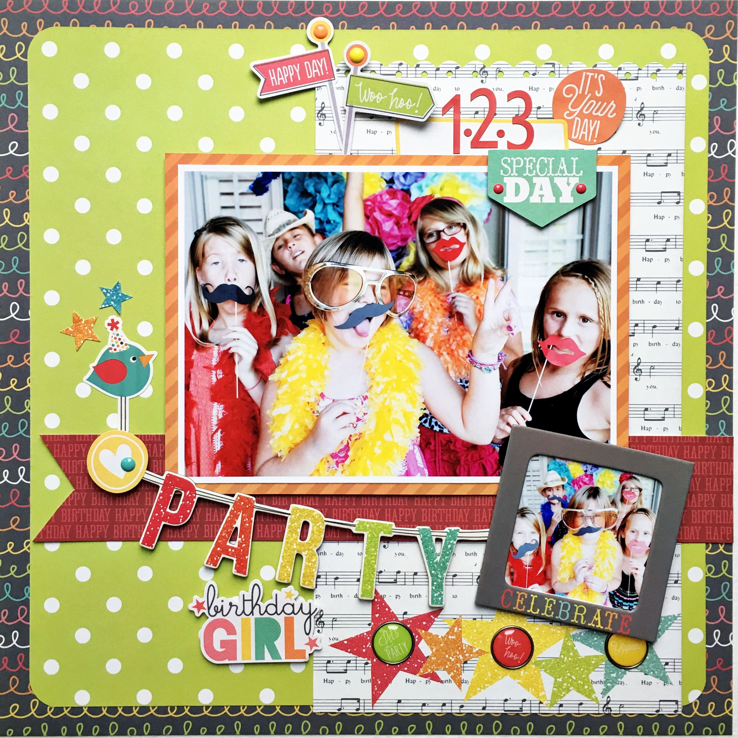 Party Girl Layout