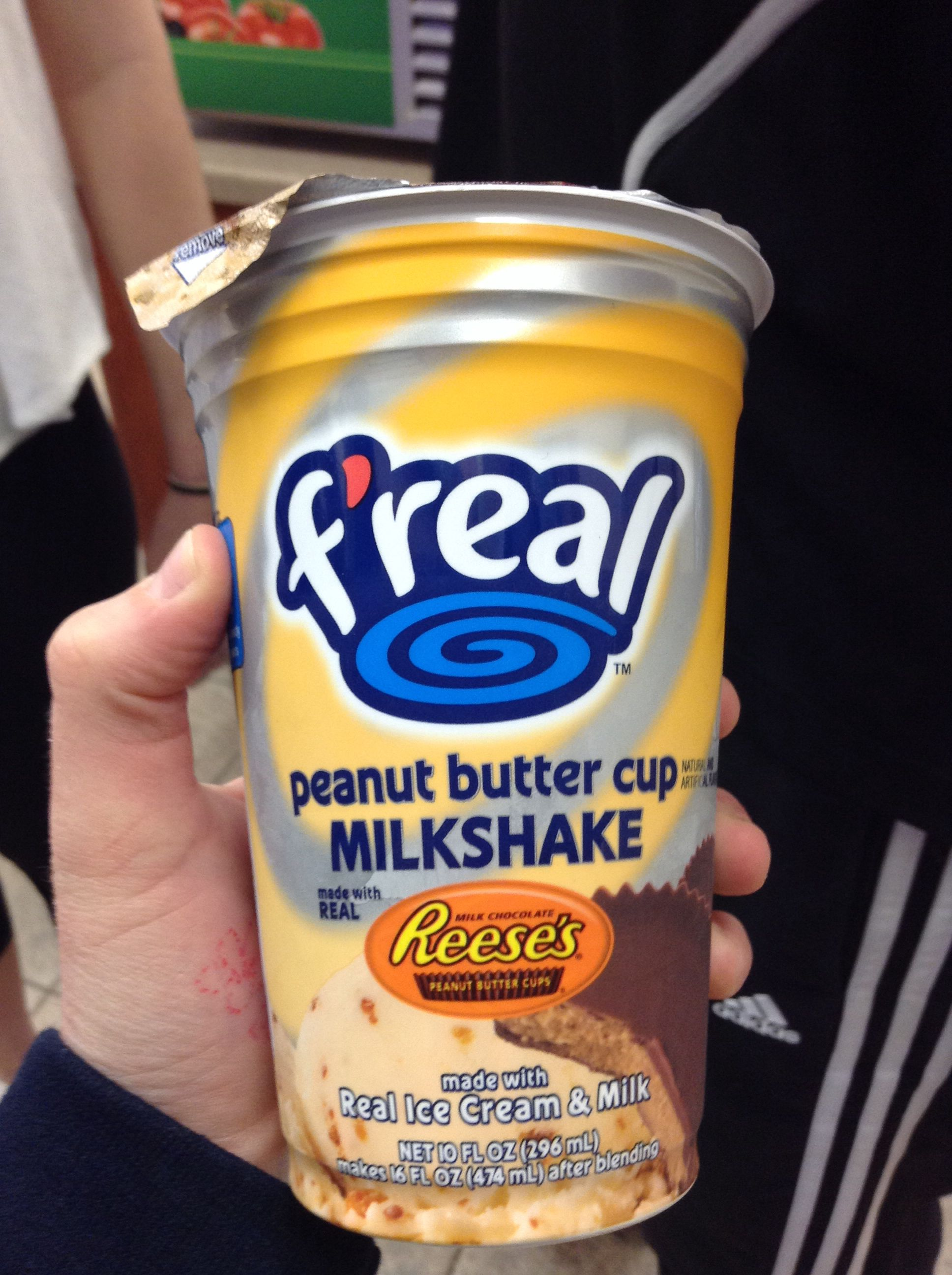 F Real Milkshakes My Fav This Is My Fav Flavor Milkshake Food Food Cravings