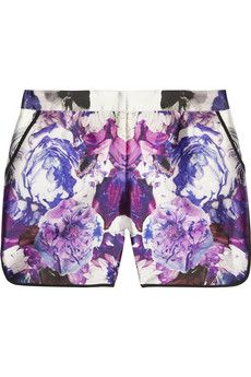 mirrored floral.